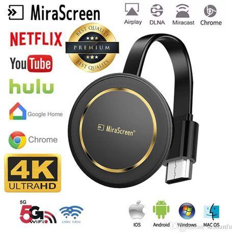 Mirascreen G14 tv Stick WiFi 2.4G Видео- 4K. видео YouTube /Google