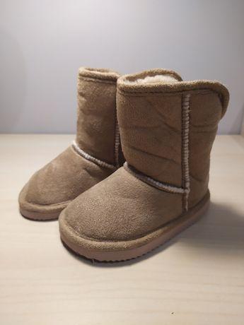 Zimowe buciki H&M 20-21 stan idealny