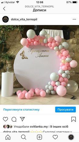 Фотозона на хрестини,день народження