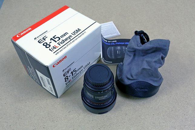 Canon EF 8-15mm f/4.0L USM