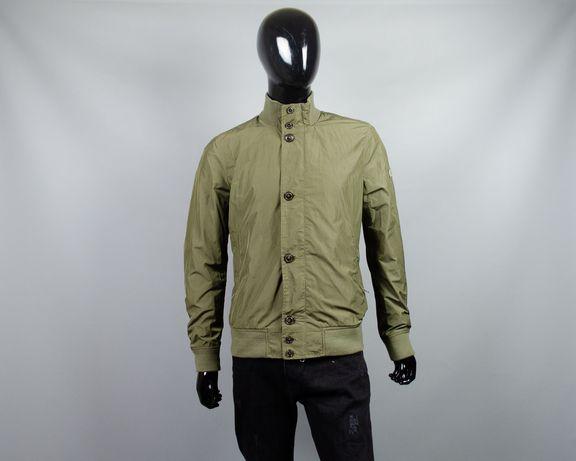 Фирменная нейлоновая куртка-ветровка Woolrich.Бомбер харрингтон ветряк