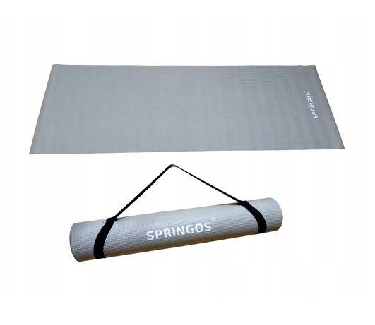 Mata do ćwiczeń fitness yoga karimata duża 173x61