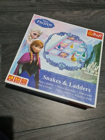 Gra Węże i Drabiny Kraina Lodu
