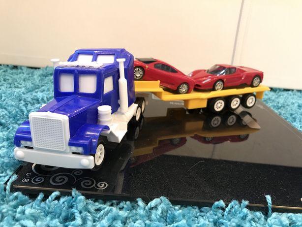 #10 Машинка фура Тралл, детский мир, тягач с прицепом
