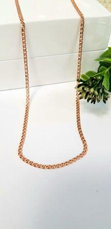 Złoty łańcuszek splot monaliza