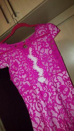 Piękna sukienka w kolorze fuksjowym! Okazja !!!