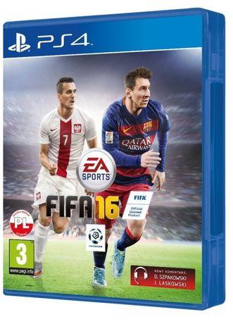 FIFA 16 PL Polska wersja PS4 * Video-Play Wejherowo