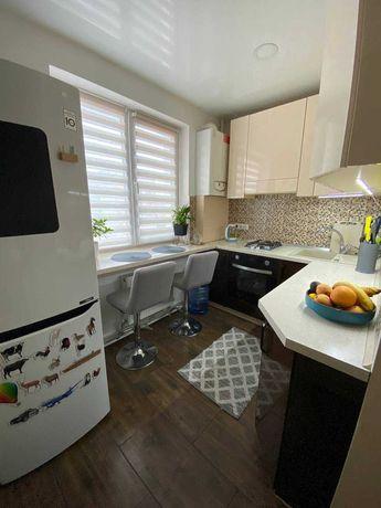 Красивая однокомнатная квартира на Ковалевке с АГВ