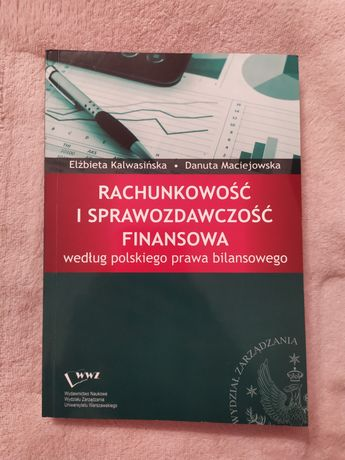 Rachunkowość i sprawozdawczość finansowa Kalwasińska Maciejewska WZ UW