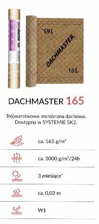 165 Membrana folia dachowa DACHMASTER 165g/m2 ATEST