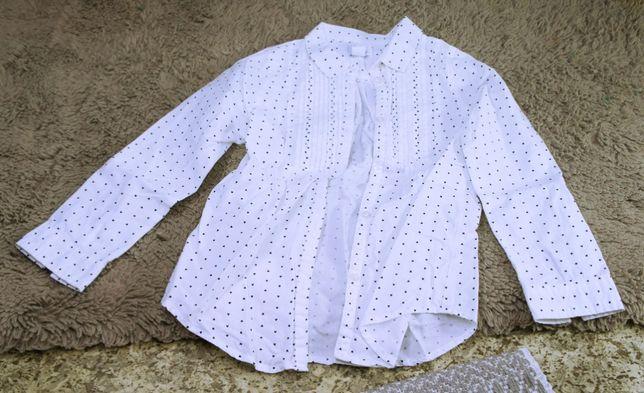 Koszula dziecięca, dla dziewczynki, wzór z serduszek, marka Smyk