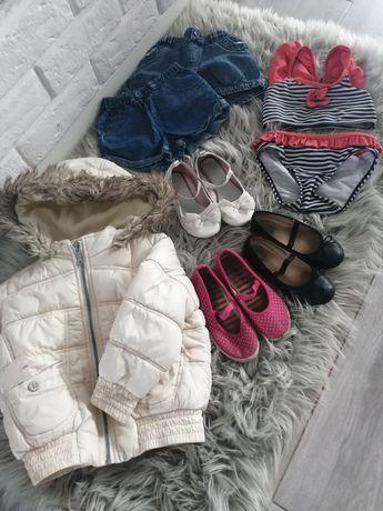 Paka zestaw ubrań dla dziewczynki 98 104