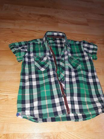 Koszula w kratę dla chlopca
