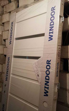 Drzwi Windoor Minoris 70 lewe, białe z podcięciem