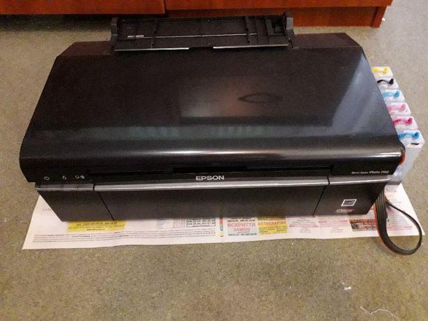 Принтер цветной фото с СНПЧ EPSON T50-нуждается в ремонте.