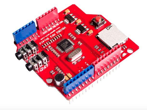 Shield VS1053B leitor mp3 - placa desenvolvimento arduíno