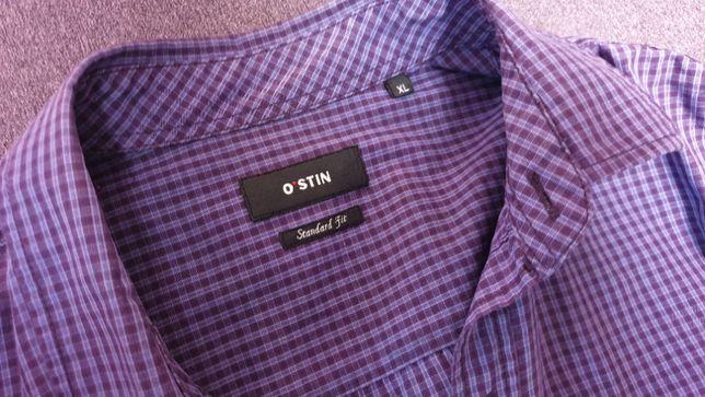 Рубашка Ostin мужская M приталенная Slim