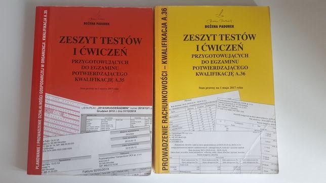 Zeszyt testów i ćwiczeń przygotowujących do kwalifikacji A.35 i A.36