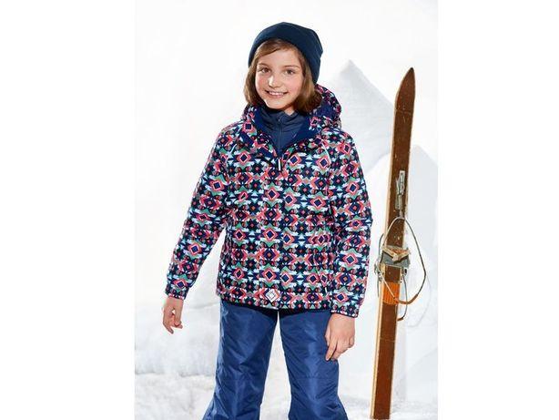 Зимний горнолыжный термо комбинезон для девочек crivit 122/128, 6-8 ле