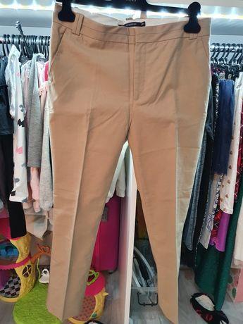 Spodnie chino beżowe r.42