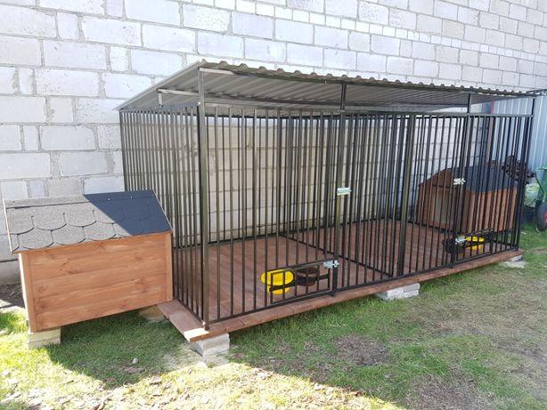 Kojce dla psów 3X2 Klatka Boks KOJEC o wymiarach 3mx2m NA JUŻ