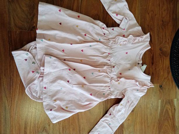 Sukienka body h&m, 74