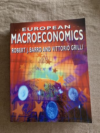 Livro European Macroeconomics Robert Barro / Vittorio Grilli