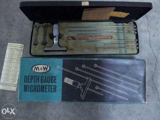 Micrometro profundidade Moore&Write