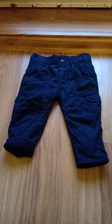 spodnie chłopięce rozmiar 80