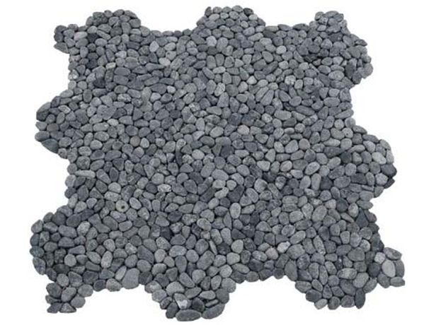 Mozaika otoczak czarny mały