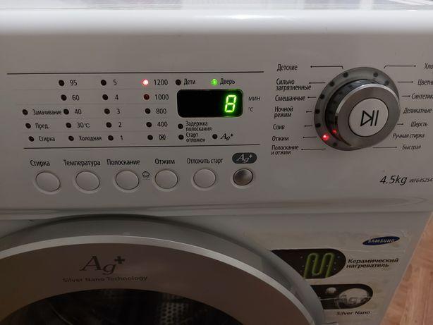 Продам стиральную машину samsung 4,5 кг 1200 об