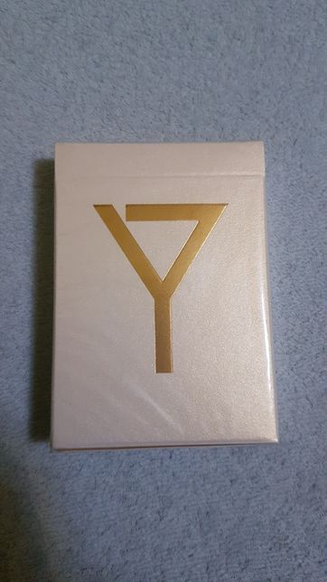 Złota talia kart Y!!! Limitowana edycja!! UNIKAT!! kolekcjonerskie