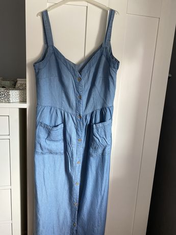 Sukienka ala jeans CARRY