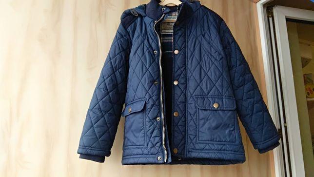 Демисезонная куртка, парка на 6-7 лет и рост от116 см до 125см