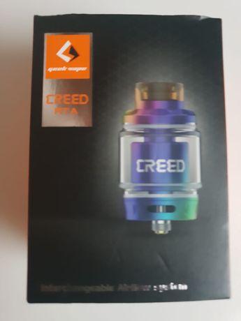 Pudełko po e-papierosie Creed RTA