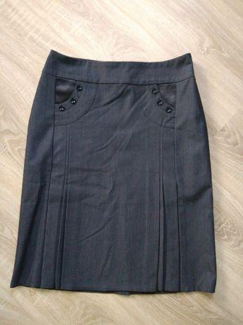 Жіноча сіра спідниця женская серая юбка 50