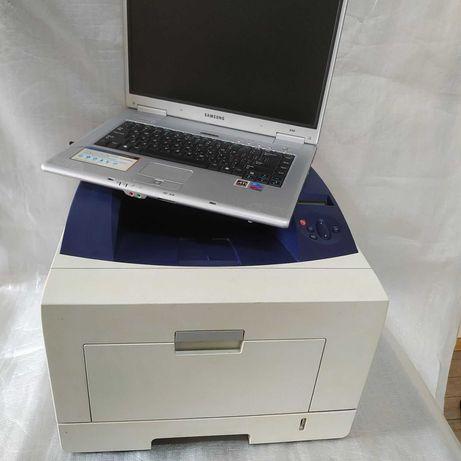 Лазерный двусторонний сетевой принтер+ноутбук в подарок. Год гарантии.