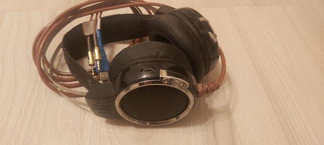 Słuchawki gamingowe hykker