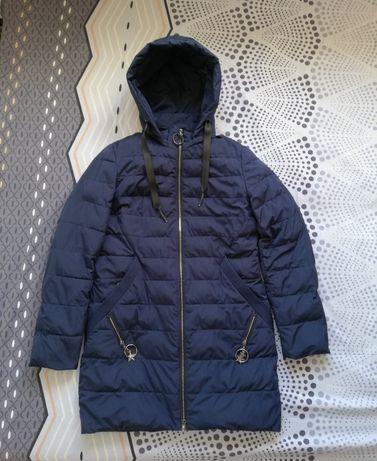 Весенняя демисезонная удлинённая куртка Karuna