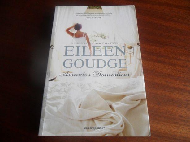 """""""Assuntos Domésticos"""" de Eileen Goudge - 1ª Edição de 2009"""