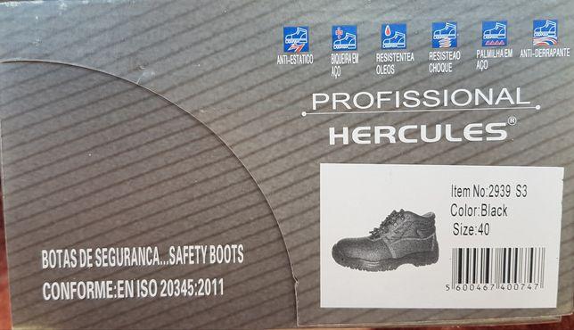 Botas de segurança N⁰40 , biqueira de aço NOVAS