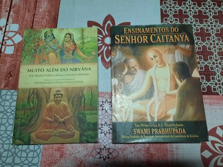 Vendo livros Krishna