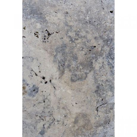 Płytki podłogowe - Trawertyn Silver Ash bębnowany 61x40,6x1,2 cm