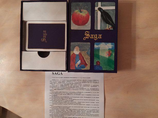 набор ассоциативных карт-картинок SAGA