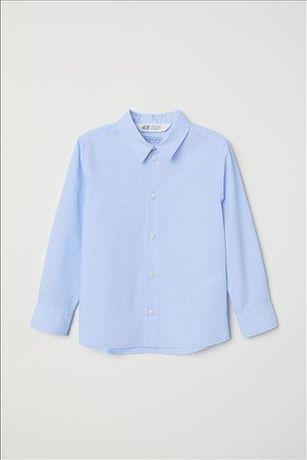 Новая рубашка НМ 6-7 лет