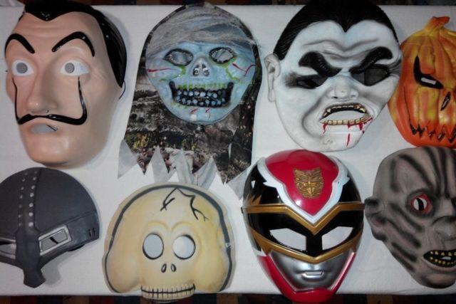Маски на Хэллоуин / Halloween, Дали