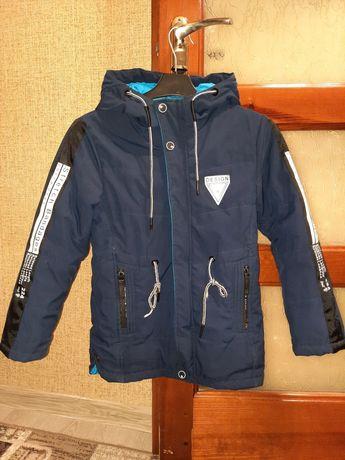 Демисезонная куртка парка на мальчика 128рр