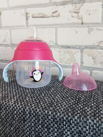 Чашка-непроливайка с носиком, 200 мл, розовая - Philips Avent