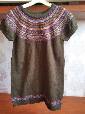 Вязанное платье H&M р 110