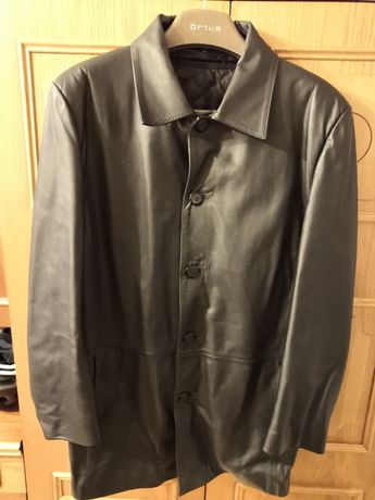 Płaszcz skórzany rozmiar L
